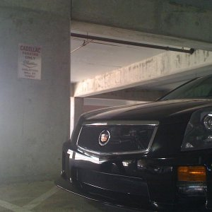 Cadillac parking ONLY!!