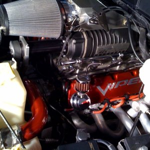 Roe Twin Screw Top Mount Supercharger