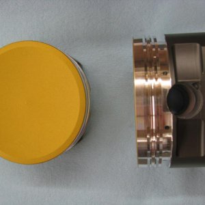 Coated Diamond Pistons