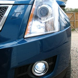 Normandy SRX New 6000K LED DRL and Fog's