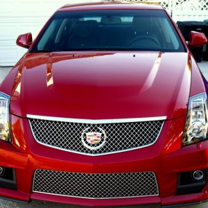 CTS V before decal