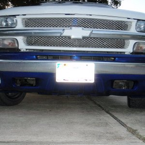 Z71 Valance and fog light package