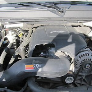 6.2 L 403 hp w/ K&N Cold Air Intake