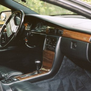 1993 Seville STS Interior