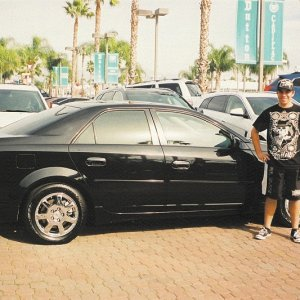 First day I bought my Cadillac. Dutton Cadillac