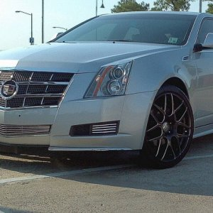 "2010 CTS LUXURY 20"" FAULKEN RT-7M  245/35-20 BILLET GRILLE CHROME GRILLE"