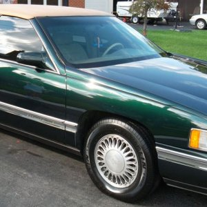 My New 1994 Cadillac Deville Country Club Gold Edition