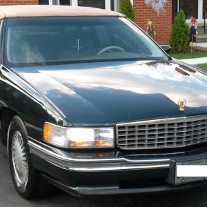 My New 1994 Cadillac Deville Country Club Gold Edition (Front)