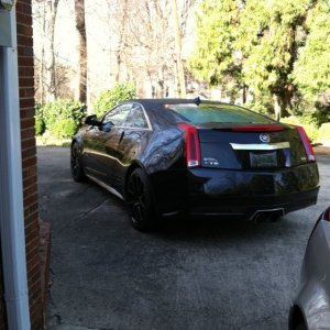 2011 Cadillac CTS-V Coupe Black Diamond Edition