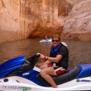 Jet Ski at Lake Powell