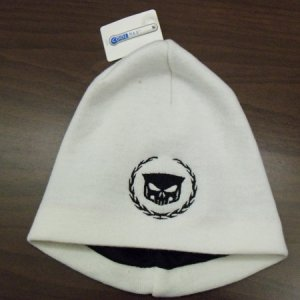 W&S Beanie/Toque  http://8thdaycreations.com/products-page/automotive/wreath-and-skull-beanietoque/