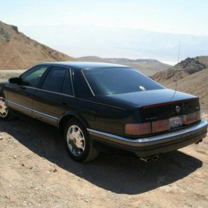 1996 Cadillac SLS Death Valley CA