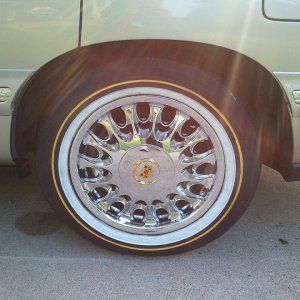 16'' Vogue Arelli wheels