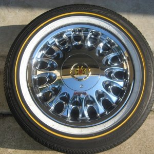 Very rare Vogue Arelli wheels