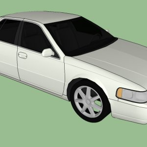 2000 cadillac seville sts 2