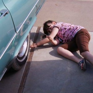 That would be my Caterra working on my Fleetwood